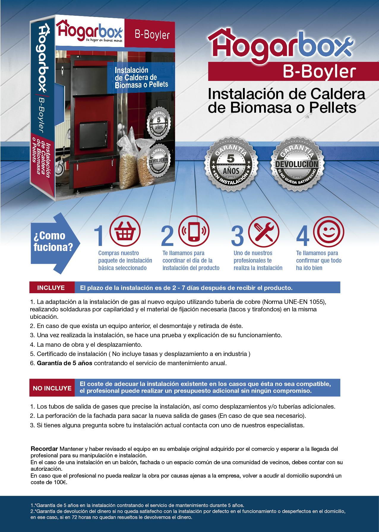 Hogarbox b boyler for Servicio tecnico grohe