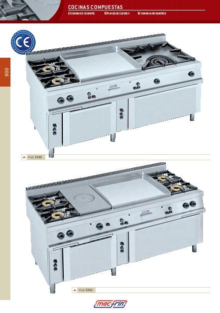 Catalogo comercial Cocinas compuesta Gama 900