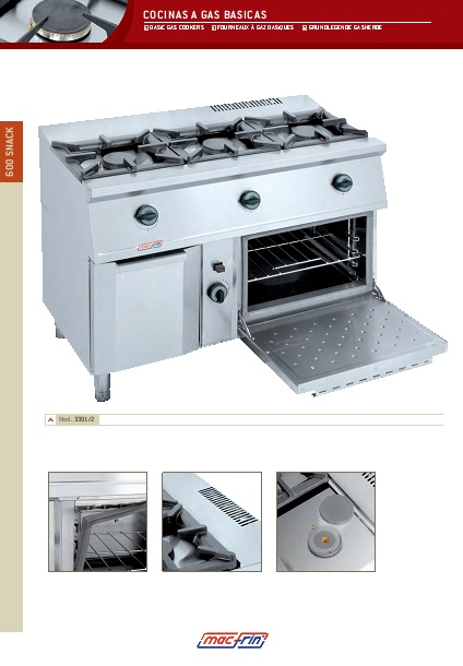 Catalogo comercial Eurast Cocina 3301-3