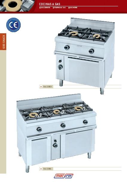 Catalogo comercial Eurast Cocina 3301-3302-3303