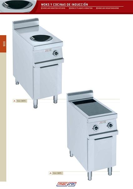 Catalogo comercial Woks y Cocinas de inducción Eurast Gama 900