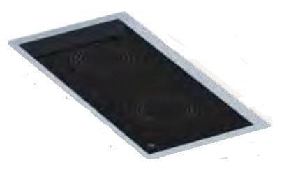 Detalle Cocina de inducción Eurast Gama 900