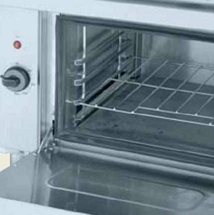 Detalle Cocinas con horno Gama 750 Eurast