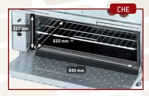 Detalle Cocinas pancha Gama 750 Eurast