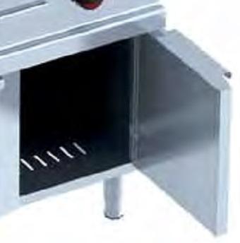Detalle puerta Cocinas sobre soporte Eurast