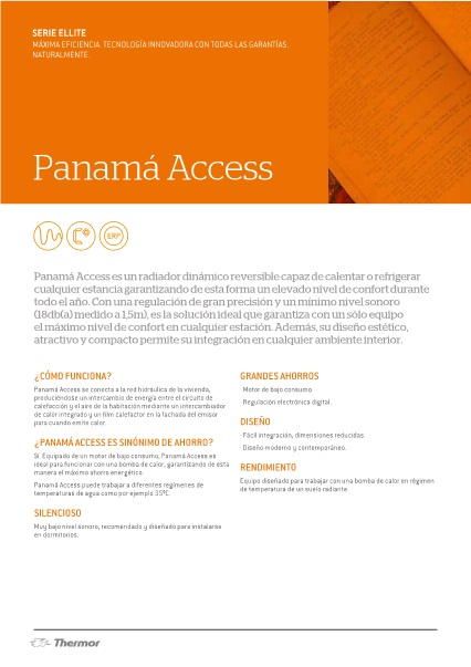 Catalogo Radiador Thermor Panama Access