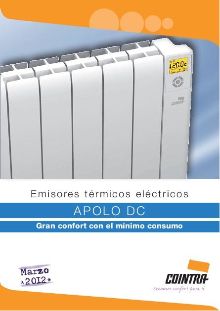 Catalogo comercial Emisor termico Cointra APOLO