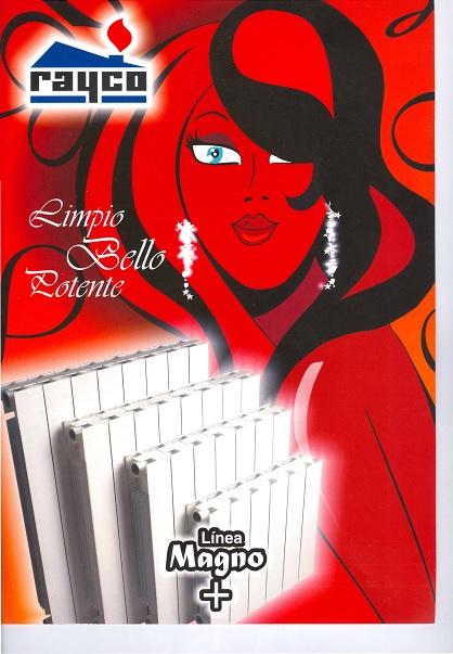 Catalogo comercial Radiadores Rayco MAGNO
