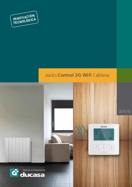 Catalogo comercial Termostato Ducasa 3G Wifi