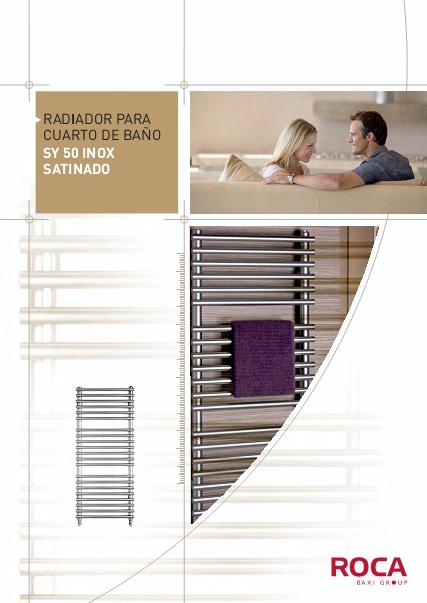 Catalogo comercial Toalleros Baxi SY50 Inox Satinado