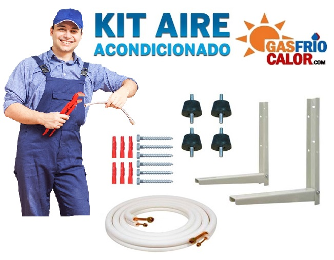 Kit montaje aire acondicionado