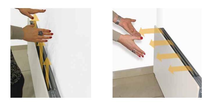 Radiador Baja temperatura Climastar DK Hybrid - Lama orientable