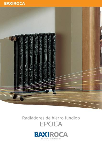 Radiador de hierro fundido Baxi EPOCA - Folleto comercial
