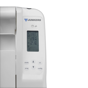 detalle emisor térmico Junkers ElafluExcellence