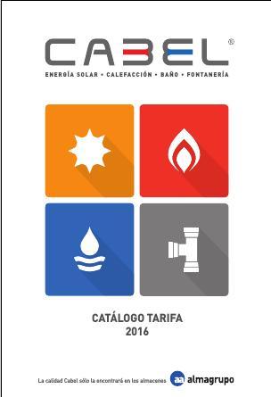 Tarifa Cabel 2016