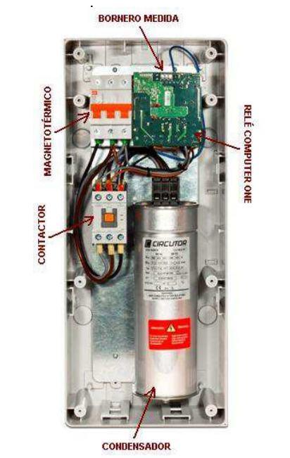 Batería de condensadores Circutor OPTIM 1 - Interior