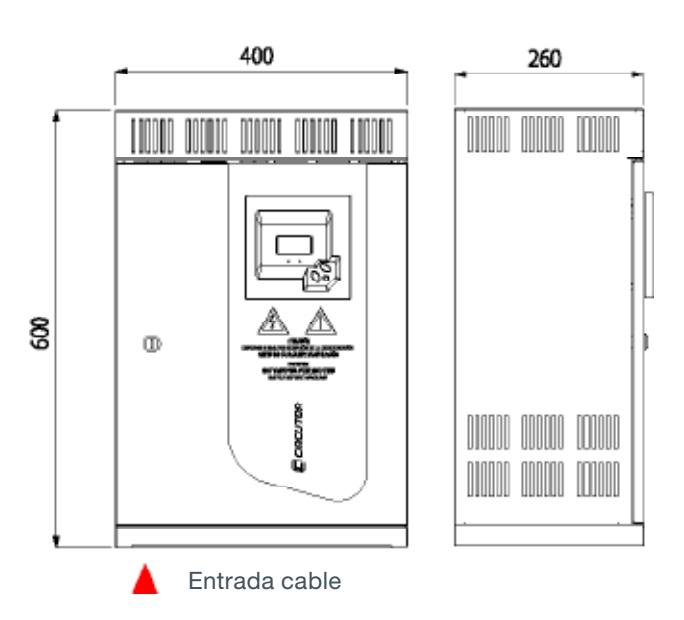Batería de condensadores Circutor OPTIM 3 - Dimensiones
