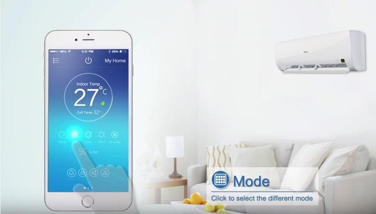 Control Smart WIFI Haier - Detalle