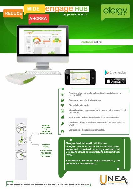 Ficha Engage Hub Kit