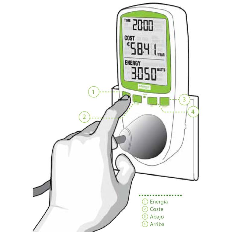 Instalación Medidor de consumo enchufable EMS