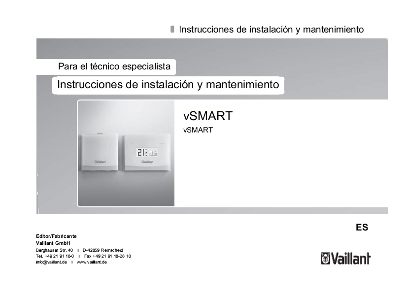 Instalacion y mantenimiento de VSMART