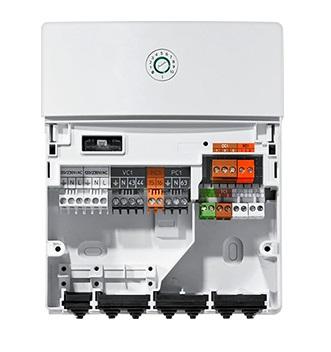 Interior Módulo de control adicional Junker MM100 200