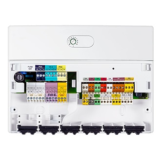Interior Módulo de control adicional de circuito solar Junker MS200