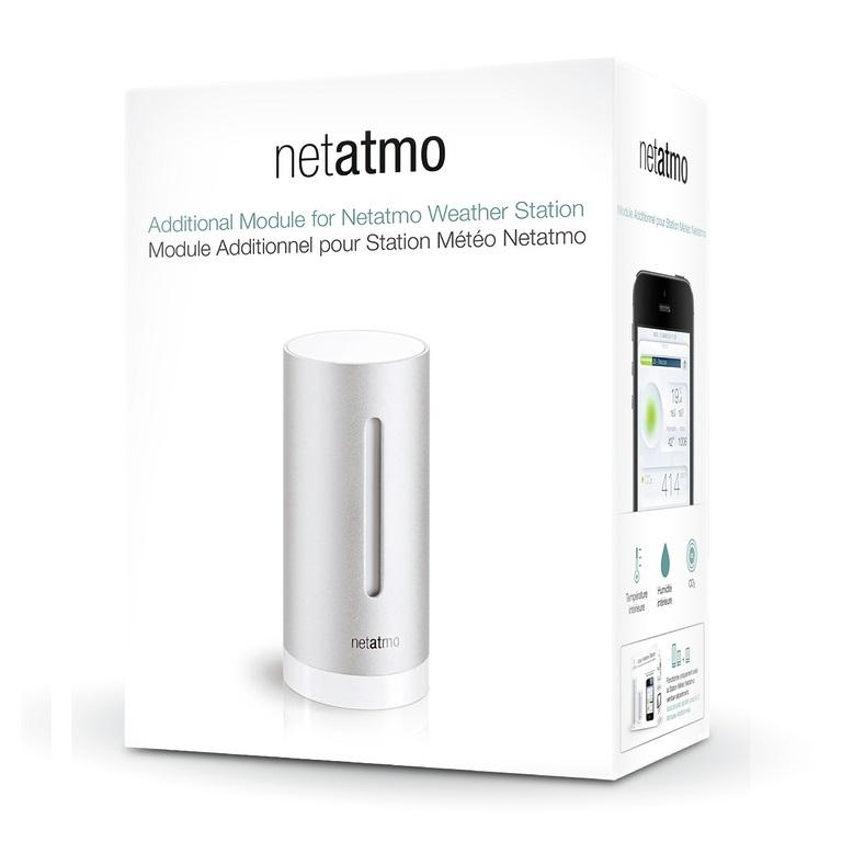 Módulo adicional de Interior Netatmo - Pack