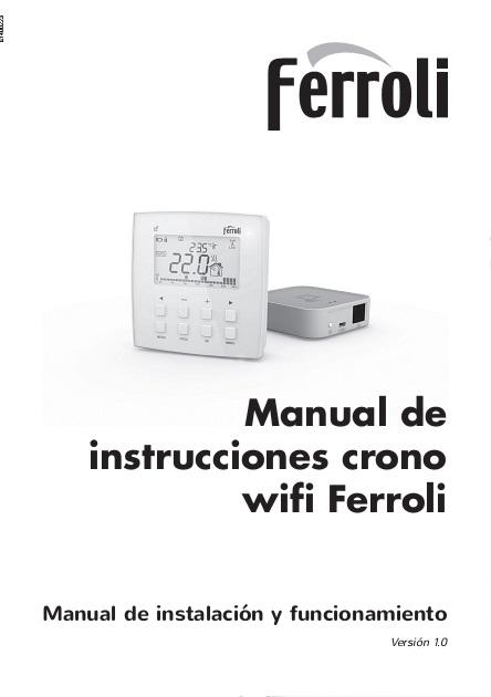 Manual-Instrucciones-Termostato-Wifi-Ferroli