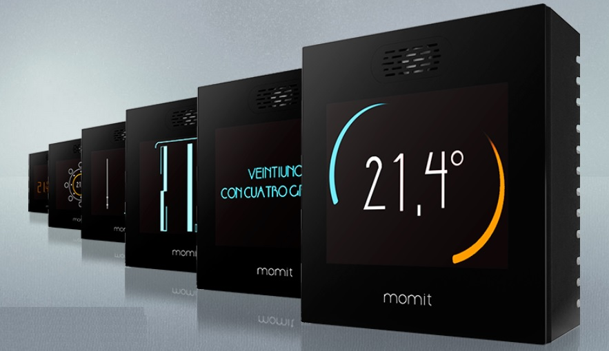momit Smart Thermostat - Colores