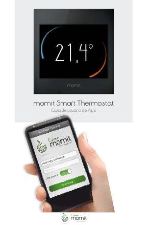 momit Smart Thermostat - Guia de usuario APP