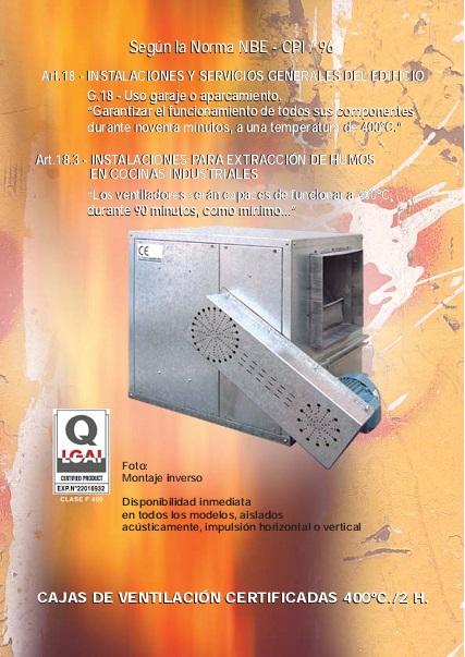 Catalogo Cajas de ventilación