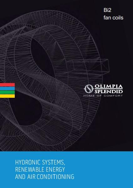 Catalogo comercial FanCoil Olimpia Splendid Bi2