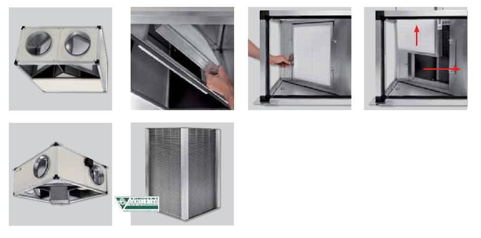 Mantenimiento Recuperadores de calor SP CADB T-N