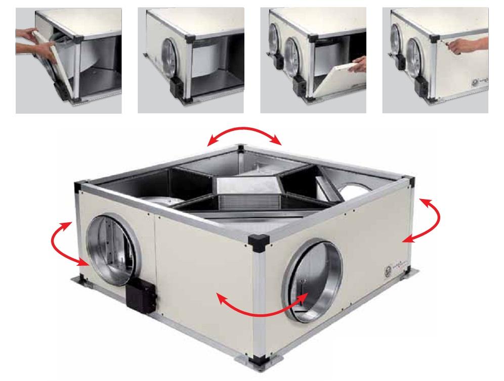 Montaje Recuperadores de calor SP CADB T-N