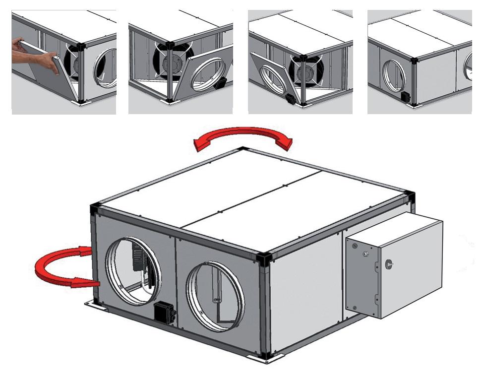 Montaje Recuperadores de calor SP CADB T-N PRO-REG