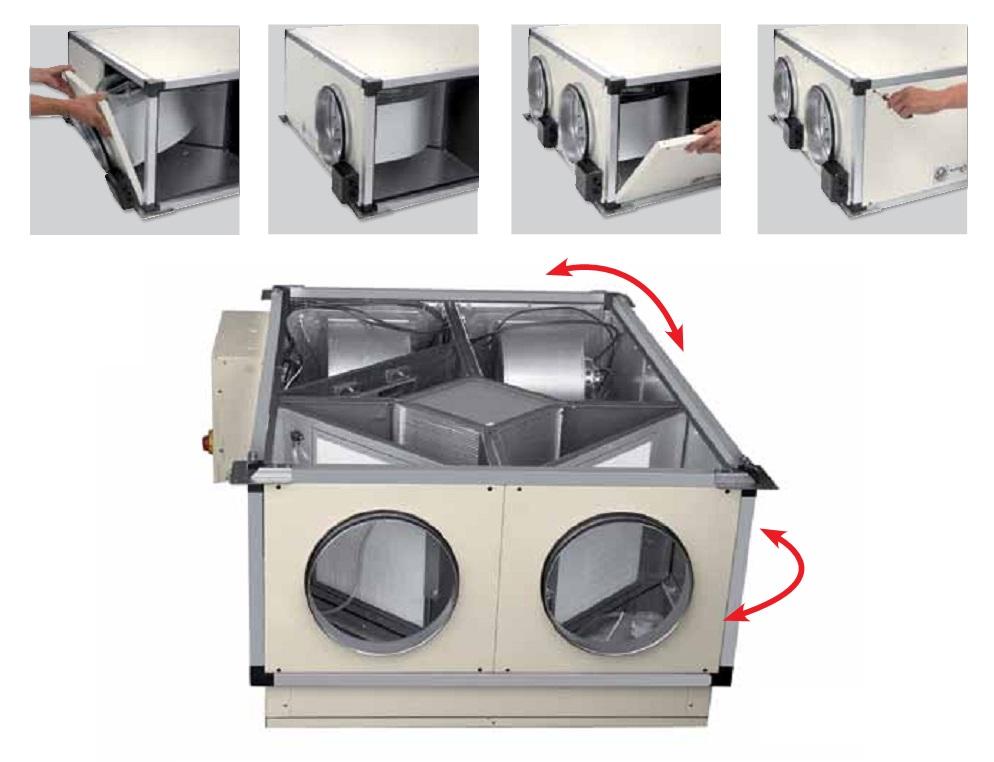 Montaje Recuperadores de calor SP CADB T-N TERMO-REG