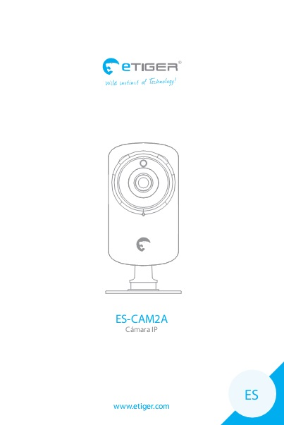 Manual Camara IP eTIGER ES-CAM2A