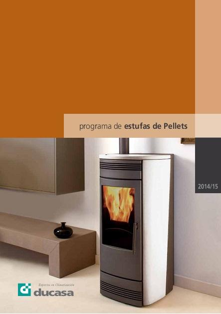 Catalogo comercial-Estufas-pellets Ducasa