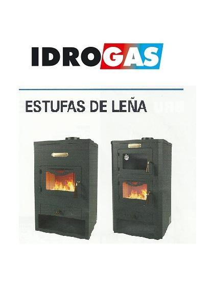 Catalogo comercial de Estufas de Leña Idrogas