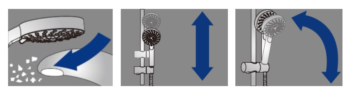 Conjunto de ducha Alterna Danubio - Detalles