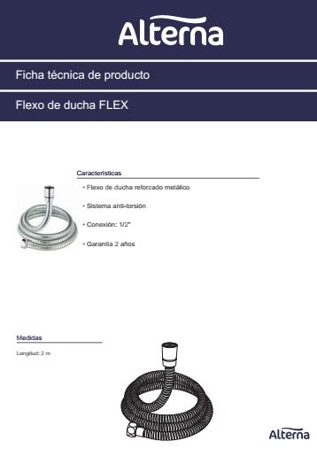 Flexo Alterna FLEX - Ficha de producto