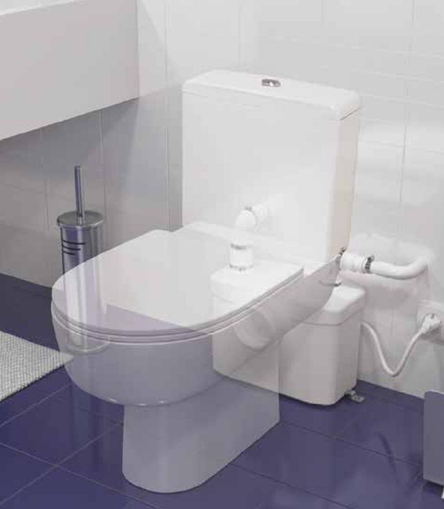 triturador sanitrit wc lavabo sfa sanitop