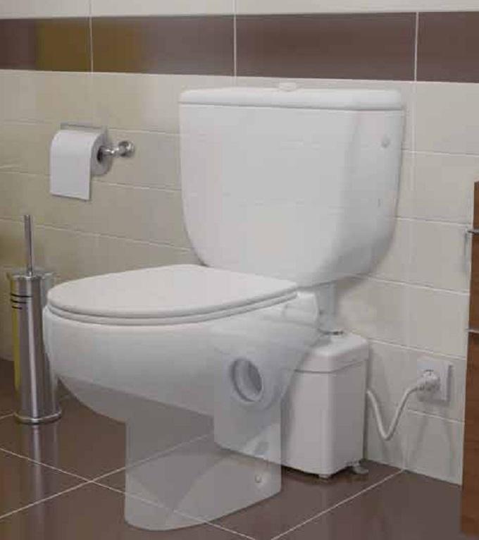 Triturador para WC SFA SANITRIT - Instalacion