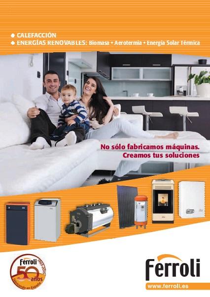 Catalogo comercial Captador solar Ferroli ECOEXTENS