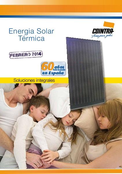 Catalogo comercial Cointra Energia solar térmica