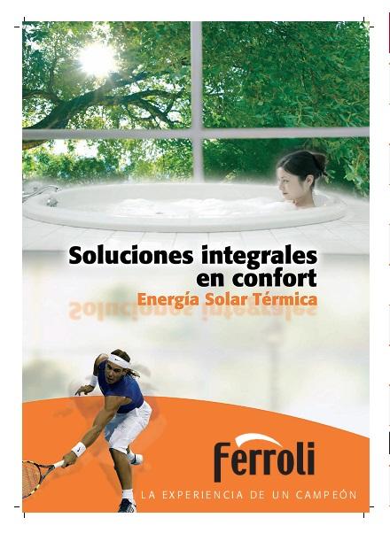 Catalogo comercial Energia solar térmica Ferroli