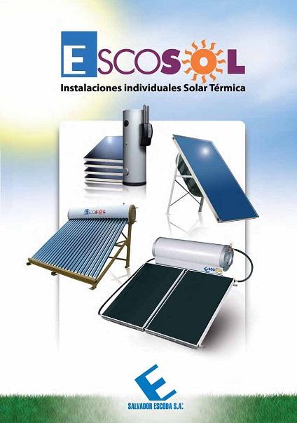 Catalogo comercial Solar termica Salvador Escoda ESCOSOL