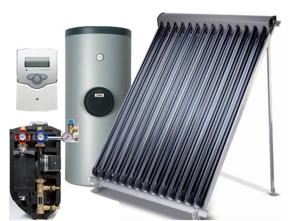 Componentes Captador solar Ferroli ECOTUBE 14