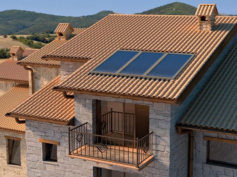 Instalación Captador solar Ariston KAIROS XP 2.5-1 V